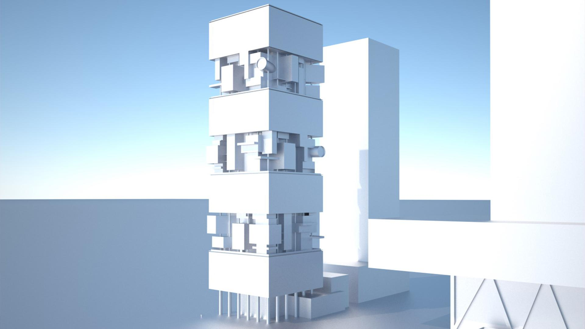 OHA - SBF TOWER 01 - Office For Heuristic Architecture