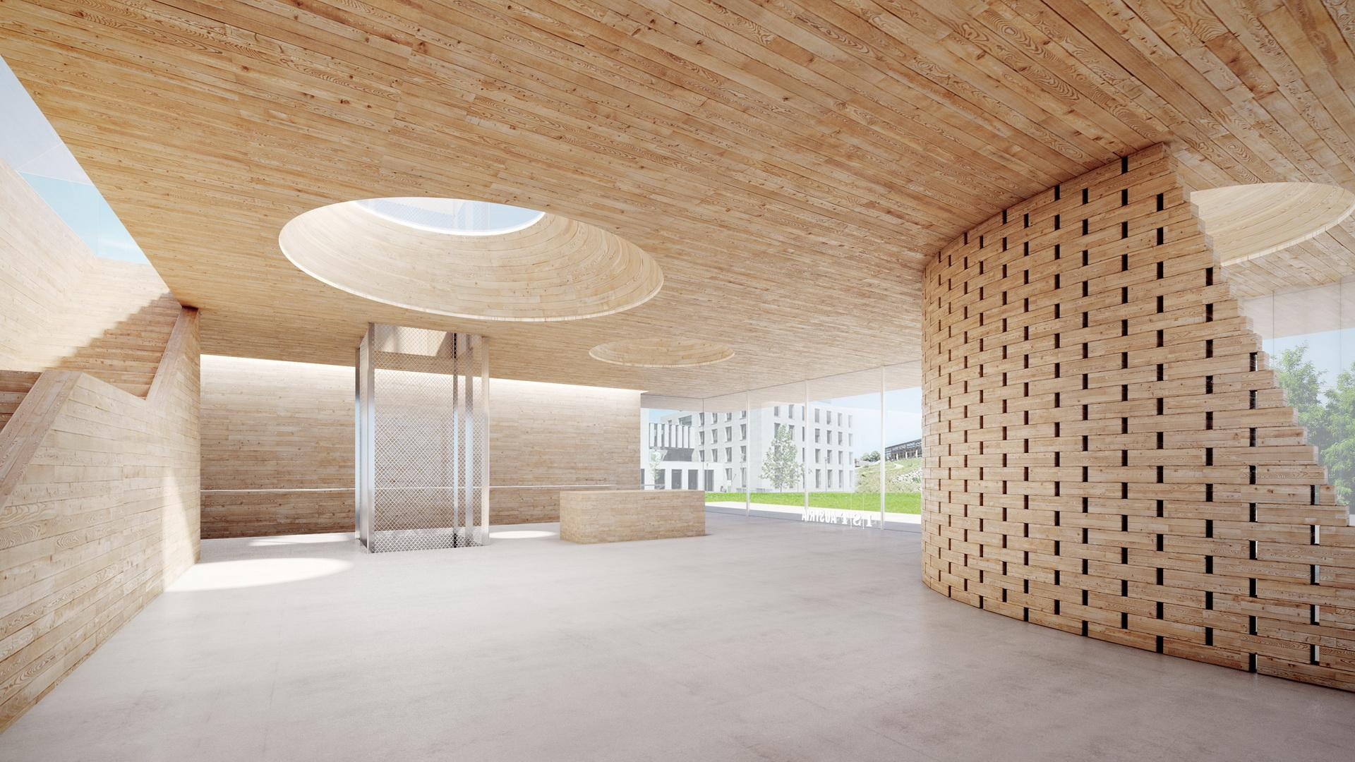 OHA - 813 IST AUSTRIA VISITOR CENTER 02 - Office For Heuristic Architecture